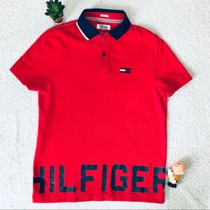 Tommy Hilfiger Denim Polo Shirt Small New Tag
